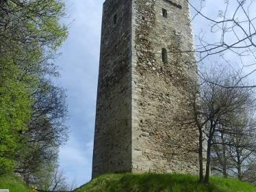 Reconstruction de la Tour d'Agos-Vidalos