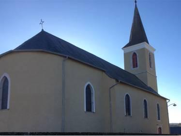 Rénovation façade & Hydro-gommage - Eglise de Saint-Martin